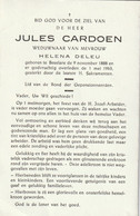 Beselare, Jules Cardoen, Deleu - Andachtsbilder