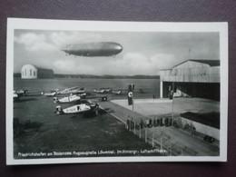 Friedrichshafen Am Bodensee. Flugzeughalle Löwental Lufftschiffhalle - War 1939-45