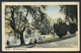 Wilhelminapark - Wilhelminasingel, - Breda - Used ,2 Scans For Condition. (Originalscan !! ) - Breda