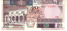Somalia P.33 20 Shillings 1989  Unc - Somalia