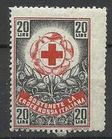 ITALY Old Vignette Red Cross Roter Kreuz MNH - Rode Kruis