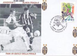 2003   55° Torneo Mondiale Di Calcio - Viareggio - 1971-80: Marcofilie
