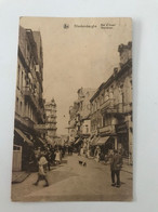 "Carte Postale Ancienne BLANKENBERGHE  Rue D'Ouest Weststraat  (timbre Spécial ""à Payer"" 30) - Blankenberge"