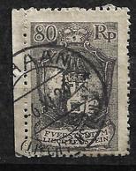 Liechstenstein  N° 58  Oblitéré    B/TB      Soldé  à Moins De 15 %            Le Moins Cher Du Site ! ! ! - Used Stamps