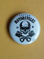 Kut 8-6 - Badge MOTOR, MOTO RIDER, MOTORBIKE - Diamètre, Diameter 2.5 Cm - Motorfietsen