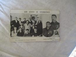 Cpa 62 Les Heros De Courrieres Accident Mines - Andere Gemeenten