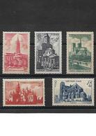 1162 France 1947 YT 772 à 776 Cathédrales Et Basilique Neuf ** - Ungebraucht