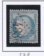 GC 4836 PRIVEZAC Dept 11 S / N° 60 Indice Baudot S / L : 17 Soit 240€ - 1849-1876: Periodo Classico