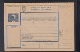 CSR Paketkarte 10 Heller Hradschin Ungebraucht - Brieven En Documenten