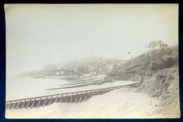 Photographie Originale Albuminée Fin 19ème  Port Du Havre Cap De La Hève ( 16,3 X 10,7 M)  SE20PHOT - Boten