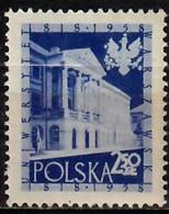 1958 Warschauer Universität Mi 1056 / Fi  911 / Sc 815 / YT 933 Postfrisch / Neuf Sans Charniere / MNH - Nuovi