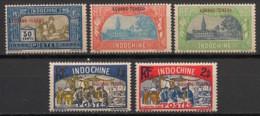 Kouang Tchéou - 1927 - N°Yv. 92 - 93 - 94 - 95 - 96 - 5 Valeurs - Neuf Luxe ** / MNH / Postfrisch - Ungebraucht