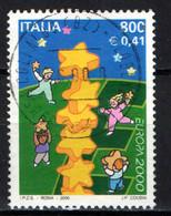 ITALIA - 2000 - EUROPA UNITA - USATO - 1991-00: Usados