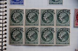Un Bloc Cérès De MADELIN Préoblitéré , 0.90 -  2 X 4. - 1945-47 Cérès De Mazelin