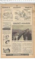 PO  // Vue De Presse // Page Tirée D'un Almanach Ancien 1958 // SAINT MARIN Saint-marin - 1950 - Nu