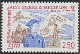 SAINT PIERRE ET MIQUELON - Le Baron De L'Espérance Et Les Compagnies Libres De La Marine - Ships
