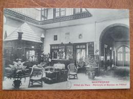 CPA - SELECTION  - MONTREJEAU - Hôtel Du Parc - Montréjeau