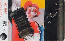 SWITZERLAND - PHONE CARD - PRÉPAYÉE ***  CIRQUE KNIE & LE CLOWN *** - Personnages