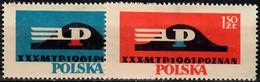 1961 Internationale Messe Poznan Mi 1230-1 / Fi  1086-7 / Sc 977-8 / YT 1092-3 Postfrisch / Neuf Sans Charniere / MNH - Nuovi