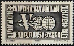 1961 Weltgewerkschaftskongreß Mi 1268 / Fi  1123 / Sc 1020 / YT 1131 Postfrisch / Neuf Sans Ch / MNH - Nuovi