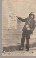 C.P.A. - BERGERET - AFFICHE ELECTORALE - PROMETOUT - TAS DE BLAGUEURS - PRECURSEUR - Bergeret