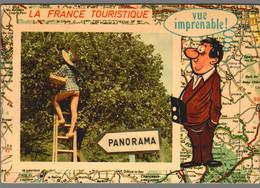 CPM Humour - La France Touristique - Vue Imprenable - Humour