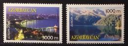 Azerbaijan 2004 - Europa - MNH As Scan - Country And City Views - 2 Stamps - FACE VALUE!!! - Azerbeidzjan