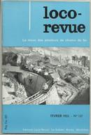 Loco Revue N°137 Février 1955 Tramways De L'Ain 01 Amberieu Cerdon Ars Jassans Fernay - Trenes