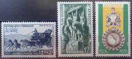 R2062/292 - 1952 - COLONIES FR. - ALGERIE - N°294 à 296 NEUFS**(1)/*(2) - Ongebruikt