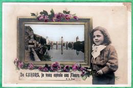 CAHORS - DE CAHORS, JE VOUS ENVOIE CES FLEURS - Cahors