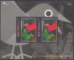 Portugal Açores Azoren CEPT 2003  Yvertn° Bloc 25 *** MNH Cote 3,50 Euro Europa Art De L' Affiche - Azores
