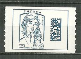 FRANCE MNH ** Adhésif Autocollant 1176 Marianne De Ciappa Et Kawena Marianne Datamatrix Et Jeunesse - Adhesive Stamps