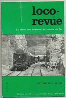 Loco Revue N°145 Octobre 1955 Ligne  Lyon St Just à Mornant Et Vaugneray 69 - Trenes
