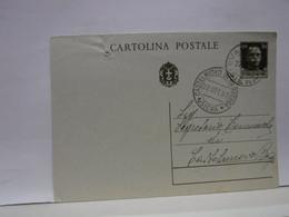 SIENA E PROV - BOLLO TONDO -RIQUADRATO -FRAZIONALE  --  VAGLIAGLI  -- 22-10-37 - Storia Postale