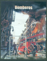 Sale - Cuba 2006 Fire Fighting And Rescue Equipment  (MNH)  - Cars, Fire, Lifeguards, Firefighters - Firemen