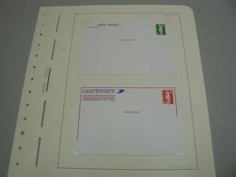 D 237/ LOT ENTIER POSTAUX MARIANNE DU BICENTENAIRE / 4 SCANS - Collections