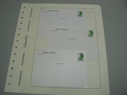 D 237/ LOT ENTIER POSTAUX LIBERTE DE GANDON / 3 SCANS - Collections