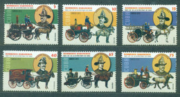 Sale - Cuba 2015 Firefighting - The 125th Anniversary Of The Great Fire Of 1890  (MNH)  - Horses, Fire, Firefighters, Ca - Firemen