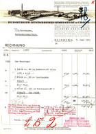 """DUISBURG U. Viersen Rechnung 1939 Deko """" Kohlstedt&Crone - Buntweberei Kleider Schürzen Tischdecken """" - Textile & Clothing"""