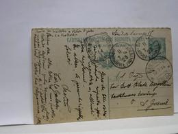 SIENA E PROV - BOLLO TONDO -RIQUADRATO -FRAZIONALE  ---    SIENA  - ARRVI E PARTENZE-- 11-7-23 - Storia Postale