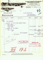 """DUISBURG U. Viersen Rechnung 1935 Deko """" Kohlstedt&Crone - Buntweberei Kleider Schürzen Tischdecken """" - Textile & Clothing"""