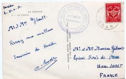 Algérie -    ORAN   LE KREIDER Sur FM N° 12   -  Cachet  SECTION DE L'ARMEE DETACHEMENT DU KREIDER - Covers & Documents