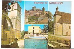 Souvenir De Gourdon - Gourdon