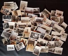 LOT DE 66 PHOTOS DE L' OCCUPATION ALLEMANDE GUERRE 39-45 MILITAIRE - Guerre, Militaire