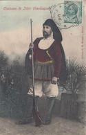 ITTIRI-SASSARI-COSTUME TIPICO- CARTOLINA  VIAGGIATA IL 22-2-1908 - Sassari