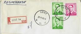 Doc. De GENT - A 14 A - Du 29/04/68 En Rec. ( E ) - Landpost (Ruralpost)