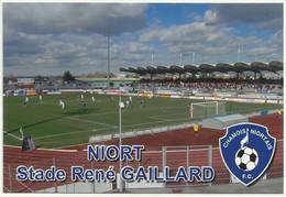 Niort 79 Stade René Gaillard Match Football Niort -Cherbourg Stadium Stadion Stadio Estadio - Niort