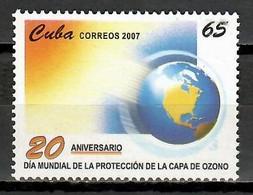 Cuba 2007 / Ozone Layer Day MNH Día De La Capa De Ozono / Cu11732  C2-13 - Protección Del Medio Ambiente Y Del Clima