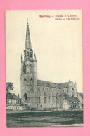 C.P. Wervik = Puinen  Oorlog 1914-1918  :  Eglise - Wervik