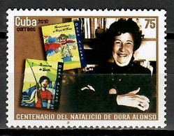Cuba 2010 / Dora Alonso Writer MNH Escritora Schriftsteller / Cu11738  C2-13 - Nuevos